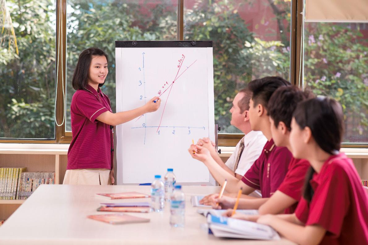 Học kinh tế, tập làm kinh doanh từ bậc Trung học tại VAS - Ảnh 2.