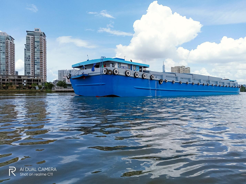 """""""Phiêu lưu"""" sông Sài Gòn chơi thuyền SUP cùng Realme C11 - Ảnh 6."""