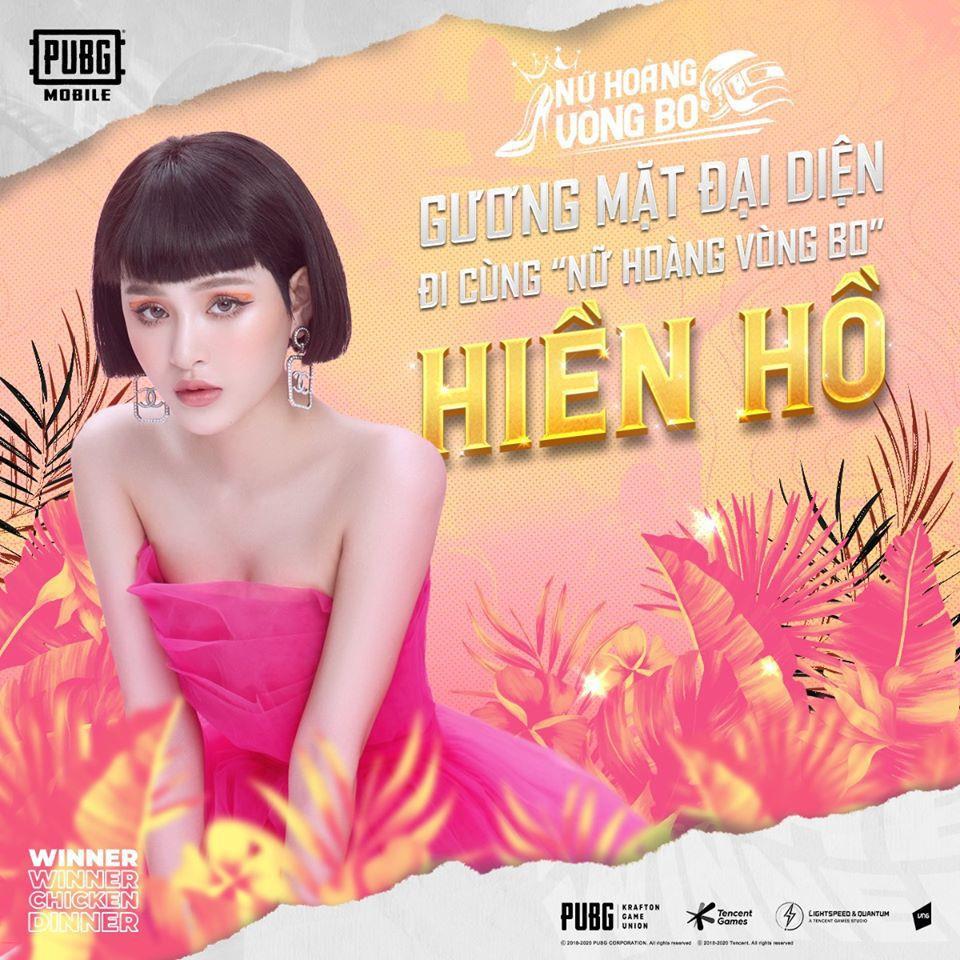 Hiền Hồ trở thành đại sứ của giải đấu Nữ Hoàng Vòng Bo: hát hay lại còn sấy đỉnh, liệu cô nàng có toả sáng tại sân chơi mới của PUBG Mobile? - Ảnh 1.