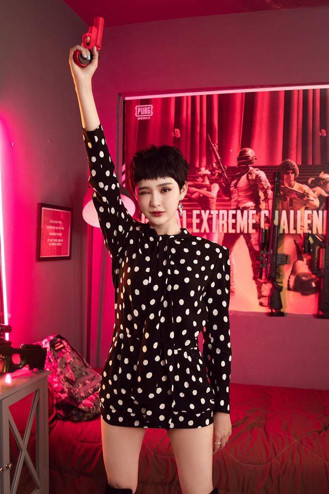 Hiền Hồ trở thành đại sứ của giải đấu Nữ Hoàng Vòng Bo: hát hay lại còn sấy đỉnh, liệu cô nàng có toả sáng tại sân chơi mới của PUBG Mobile? - Ảnh 2.