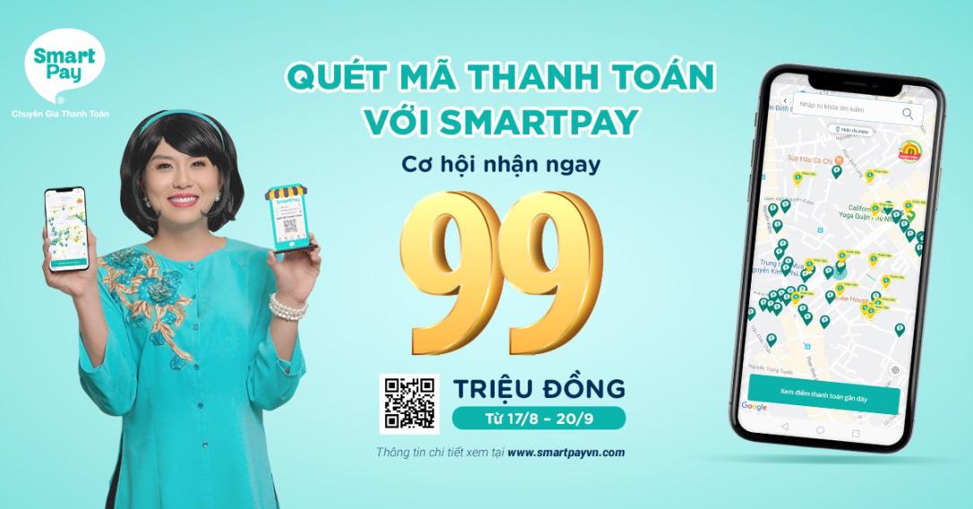 Quét mã thanh toán với SmartPay – Cơ hội nhận ngay 99 triệu đồng - Ảnh 4.