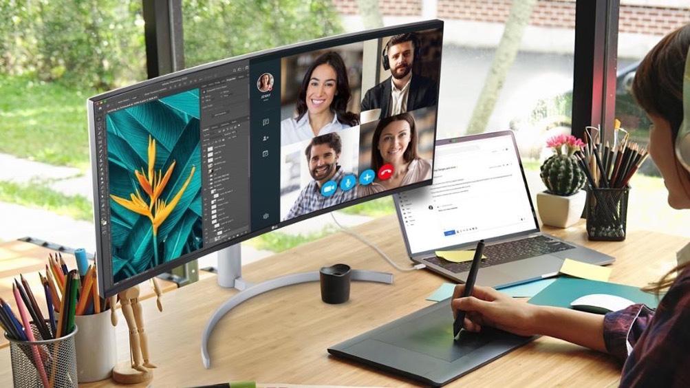 Màn hình máy tính nào phù hợp cho người làm việc tại nhà? - Ảnh 4.