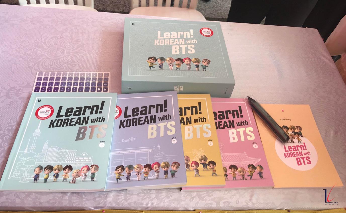 Học tiếng Hàn cùng BTS tại Đại học Thăng Long - Ảnh 4.