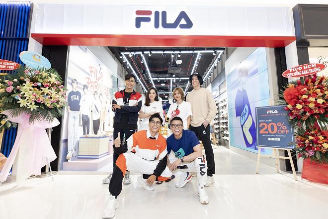 Gil Lê và dàn fashionista Sài thành tụ hội trong ngày FILA ra mắt cửa hàng đầu tiên tại Việt Nam - Ảnh 3.