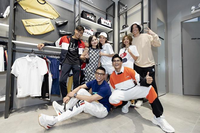 Gil Lê và dàn fashionista Sài thành tụ hội trong ngày FILA ra mắt cửa hàng đầu tiên tại Việt Nam - Ảnh 4.