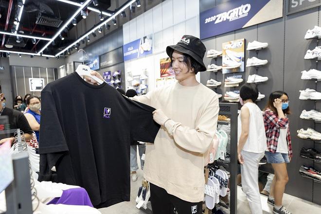 Gil Lê và dàn fashionista Sài thành tụ hội trong ngày FILA ra mắt cửa hàng đầu tiên tại Việt Nam - Ảnh 6.