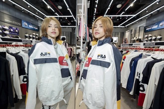 Gil Lê và dàn fashionista Sài thành tụ hội trong ngày FILA ra mắt cửa hàng đầu tiên tại Việt Nam - Ảnh 9.
