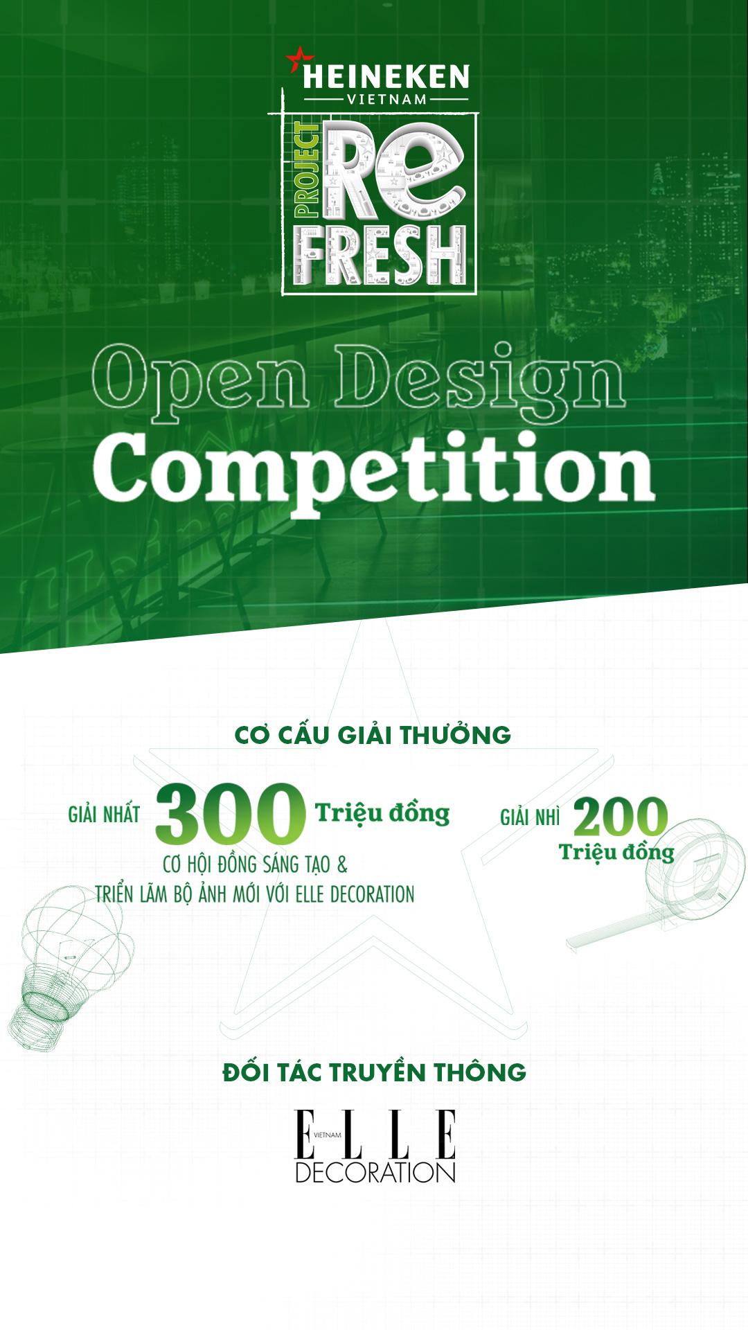 Project Refresh - Heineken® chào đón tài năng thiết kế Việt kiến tạo không gian bar cho tương lai - Ảnh 2.