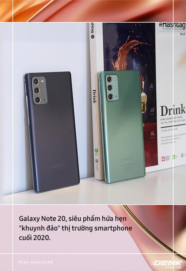Galaxy Note20: Hiện thực hóa giấc mơ dẫn dắt trải nghiệm di động toàn diện - Ảnh 7.