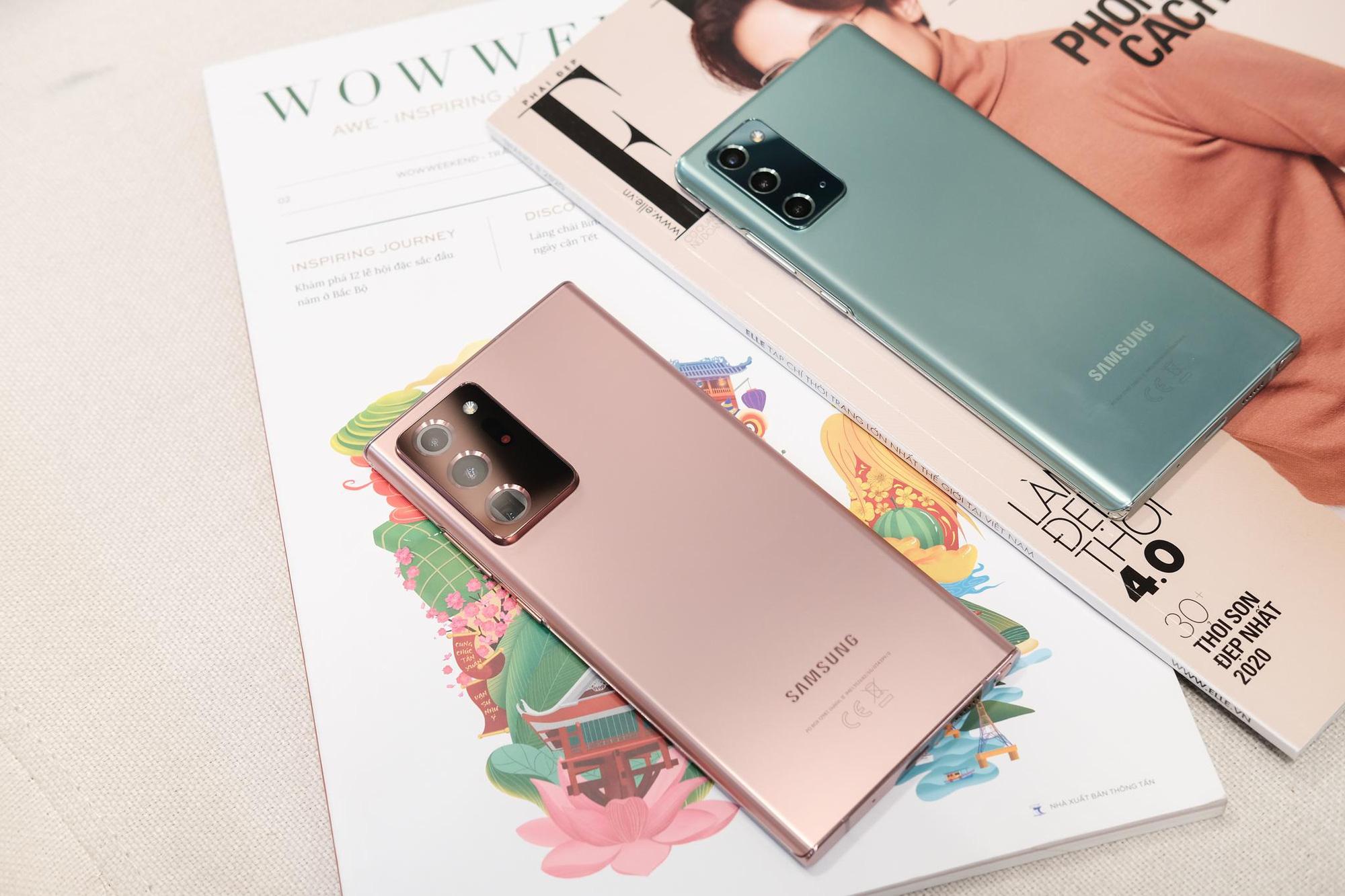 Nhìn lại màn ra mắt siêu phẩm Galaxy Note20: Sẵn sàng đưa thế giới bước vào kỷ nguyên 5G - Ảnh 1.