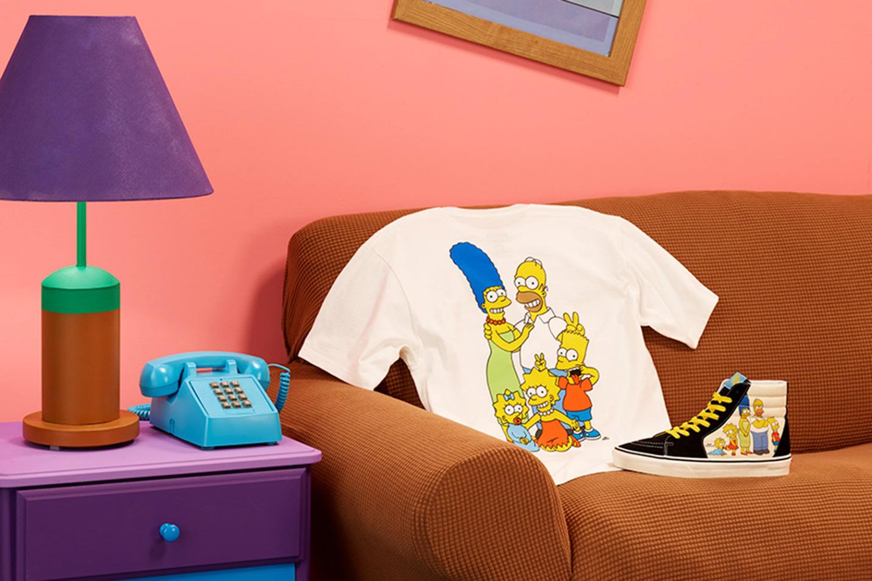 """Vans x The Simpsons tung hàng loạt cực phẩm siêu cưng, nhìn thôi đã muốn """"gói mang về"""" - Ảnh 1."""