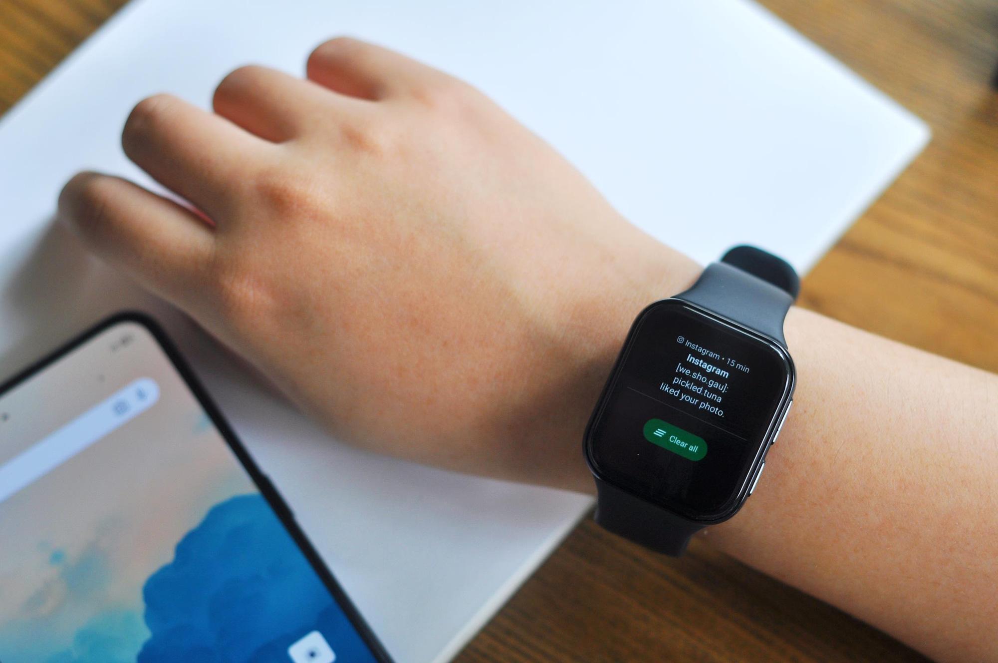 Thiết kế tinh tế, tính năng ấn tượng: OPPO Watch mang đến nhiều lợi ích hơn bạn nghĩ! - Ảnh 3.