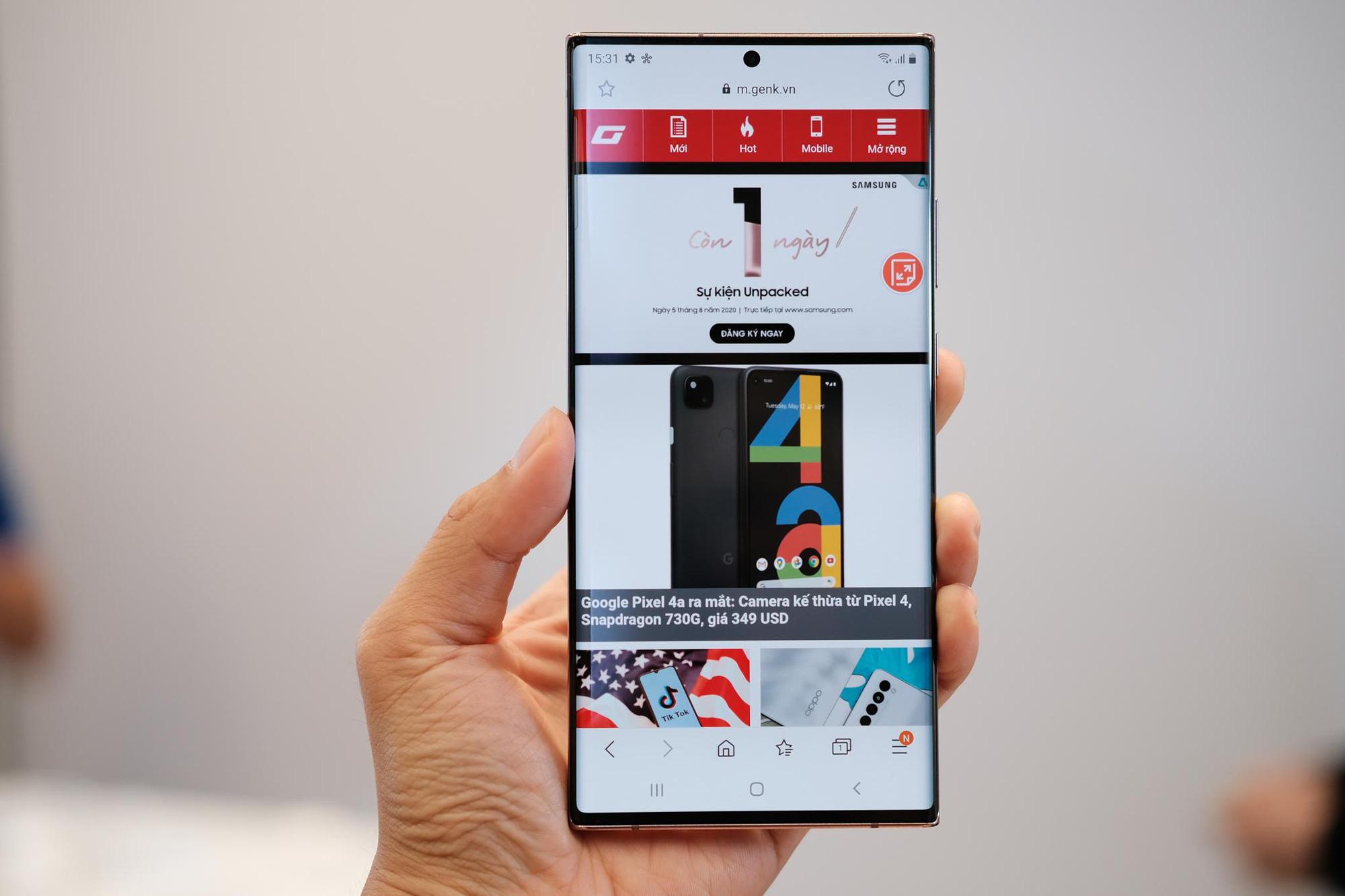 Nhìn lại màn ra mắt siêu phẩm Galaxy Note20: Sẵn sàng đưa thế giới bước vào kỷ nguyên 5G - Ảnh 6.