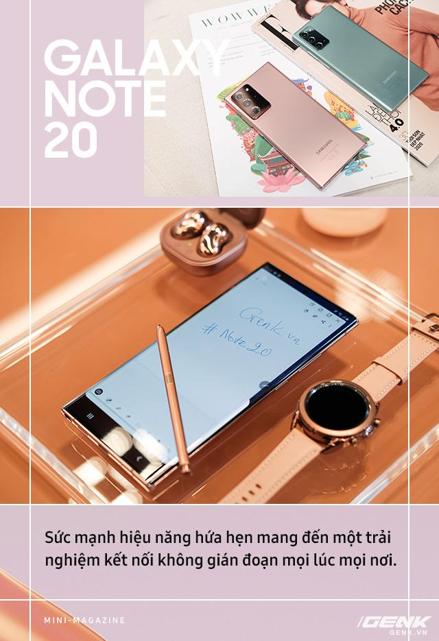 Galaxy Note20: Hiện thực hóa giấc mơ dẫn dắt trải nghiệm di động toàn diện - Ảnh 5.