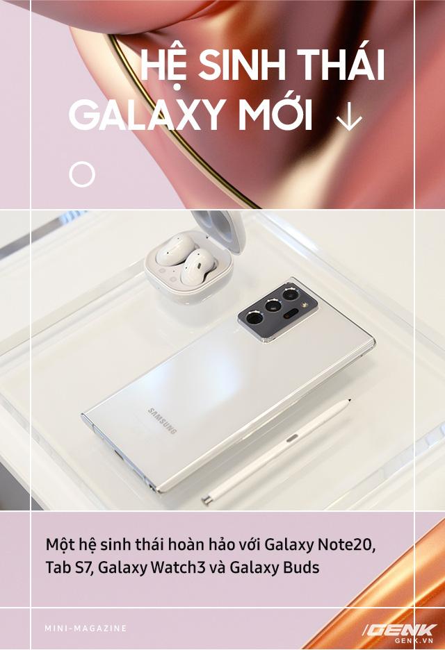 Galaxy Note20: Hiện thực hóa giấc mơ dẫn dắt trải nghiệm di động toàn diện - Ảnh 6.