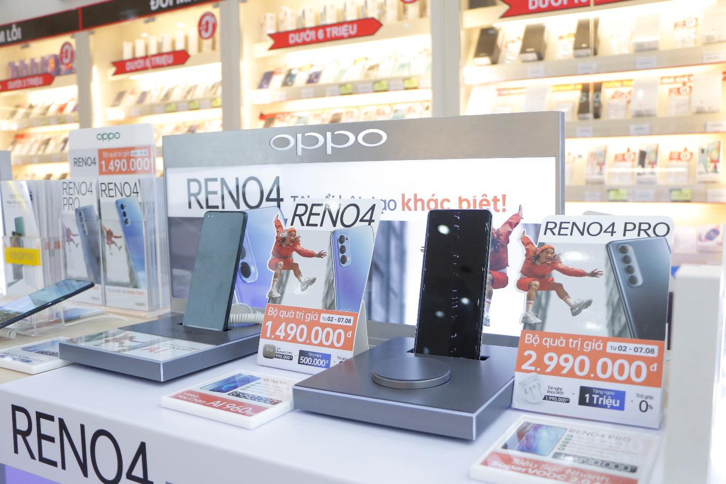 OPPO Reno4 Series chính thức lên kệ FPT Shop với ưu đãi trả góp 0% lãi suất - Ảnh 2.