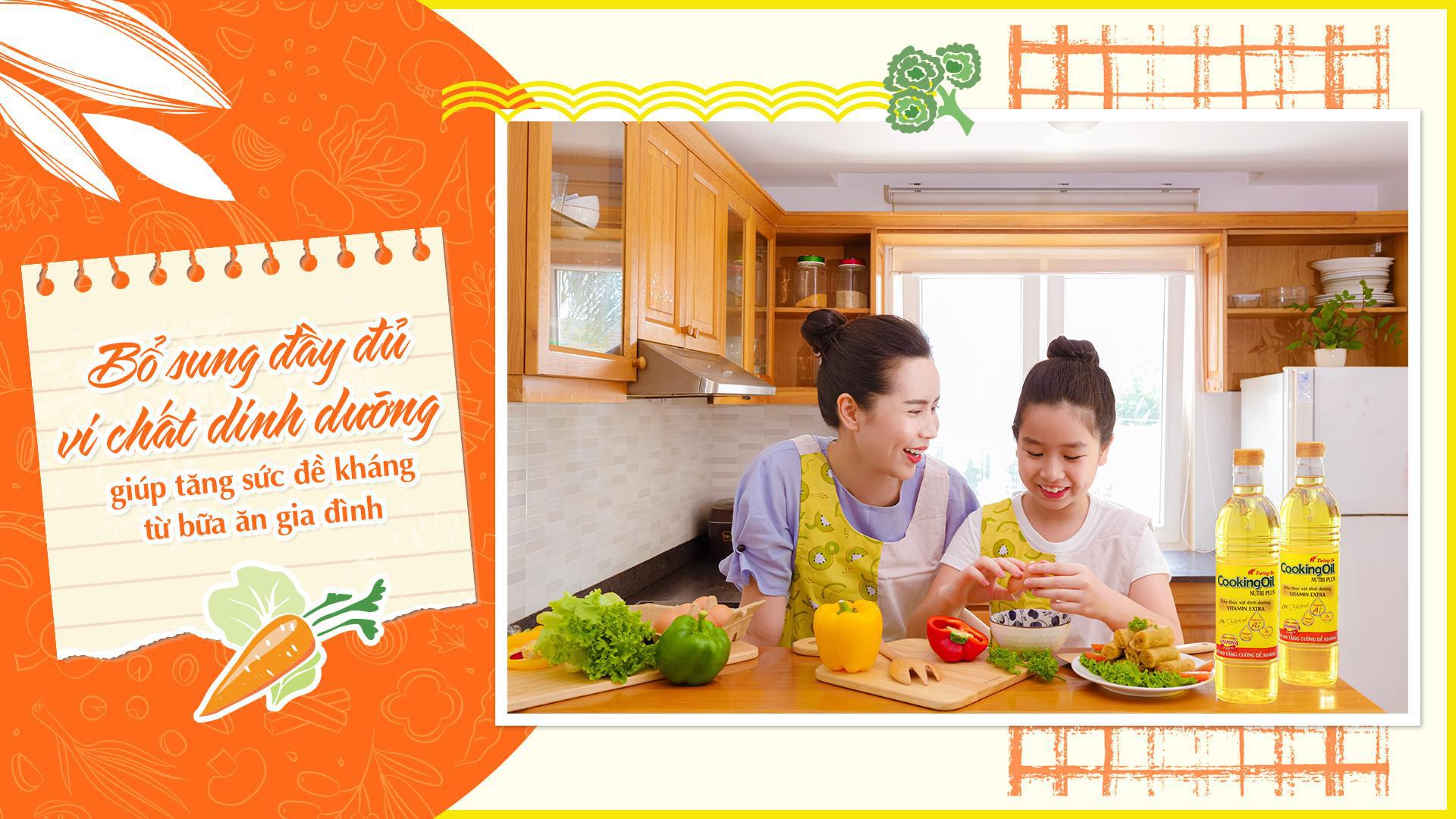 Theo chân Lưu Hương Giang khám phá góc đề kháng home-made để tăng cường sức khỏe cho cả gia đình - Ảnh 3.