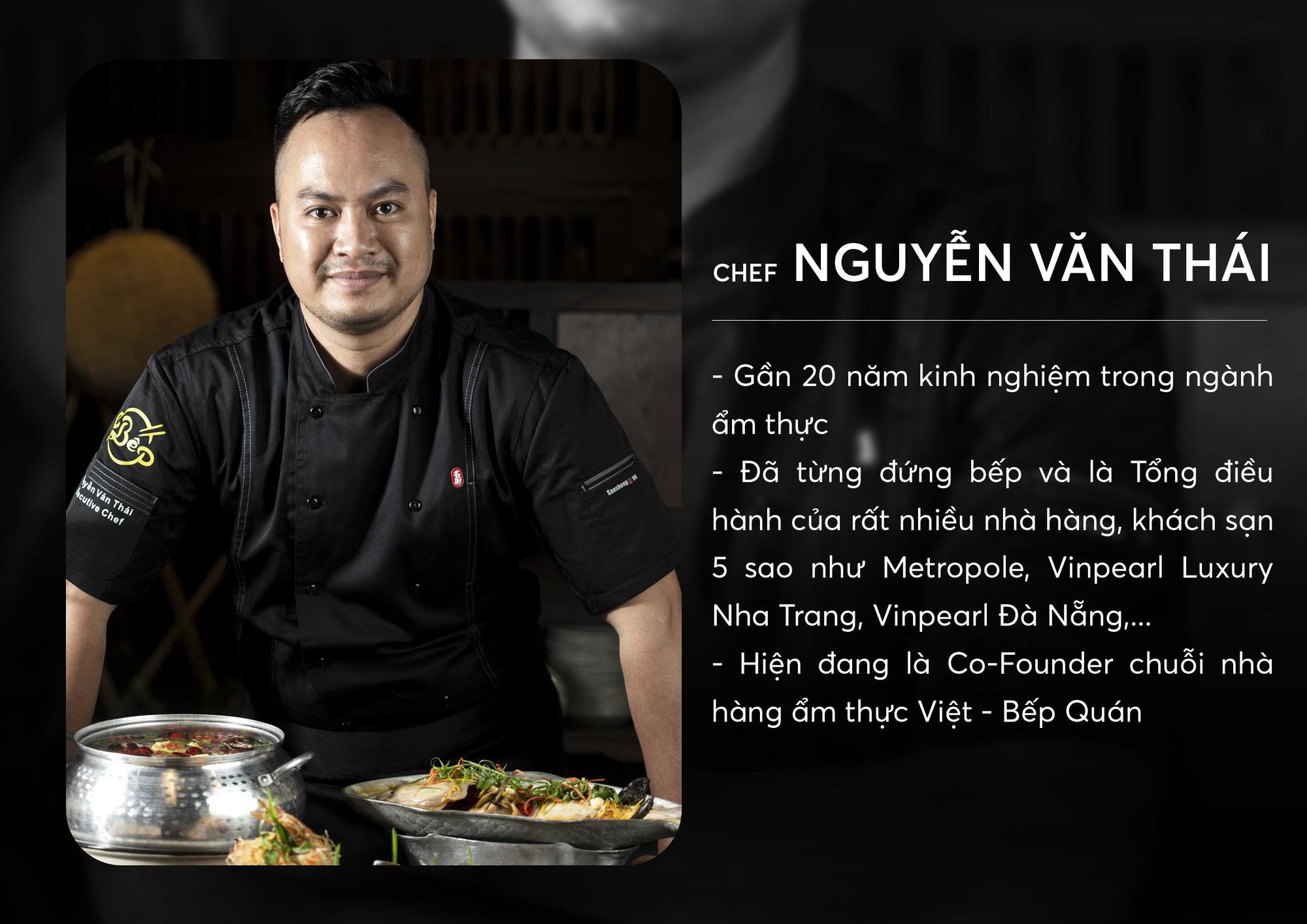 Chef Thái - Nâng tầm món ăn Việt luôn là trăn trở cả đời làm nghề của tôi - Ảnh 1.