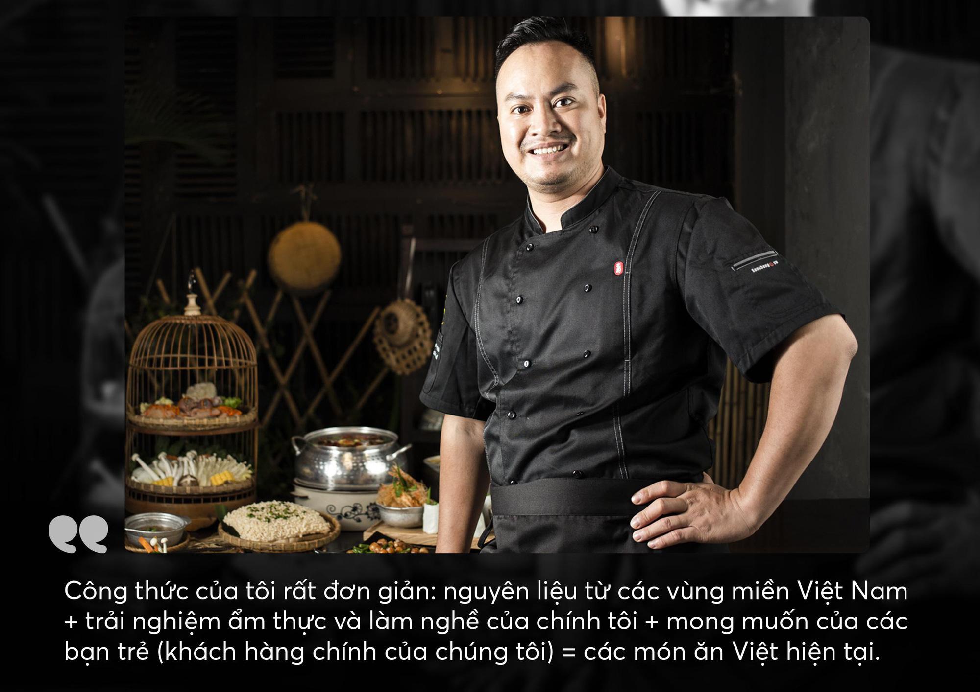 Chef Thái - Nâng tầm món ăn Việt luôn là trăn trở cả đời làm nghề của tôi - Ảnh 5.