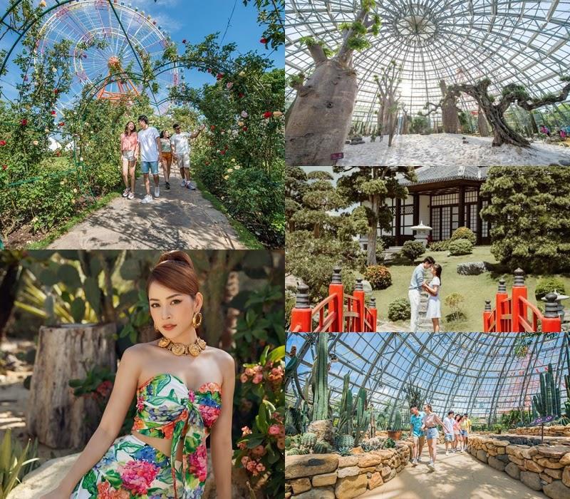"""""""Ship"""" ngay công thức top trending từ Chi Pu: Vi vu trong show diễn chất lừ, lại được check-in """"sang - xịn"""" tại công viên giải trí hàng đầu Việt Nam - Ảnh 7."""