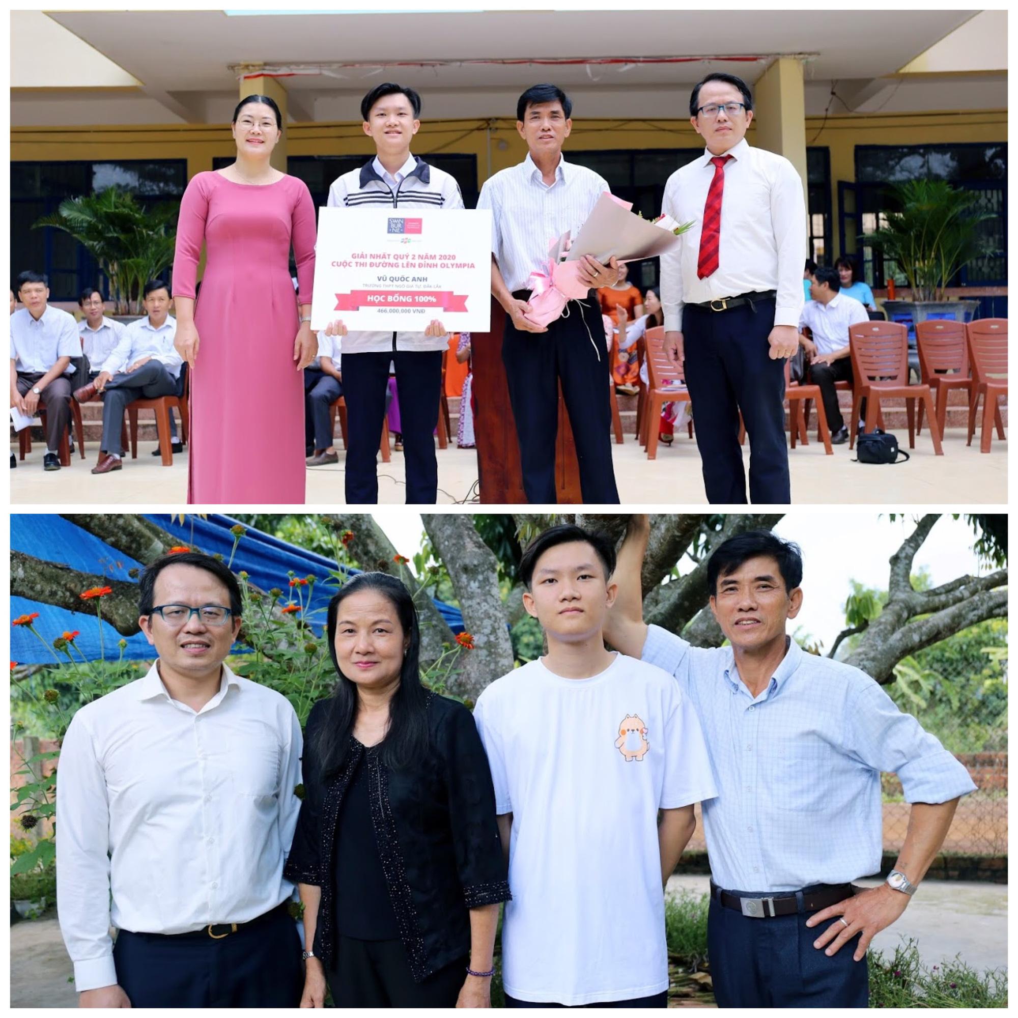 Swinburne Việt Nam trao học bổng gần 2 tỷ đồng cho 4 thí sinh trước vòng chung kết Olympia - Ảnh 5.