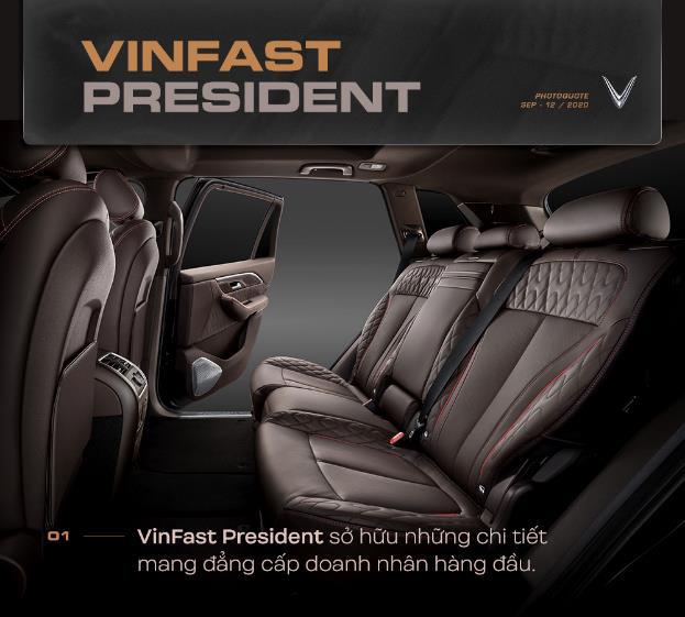 VinFast nâng tầm đẳng cấp với President - Ảnh 2.