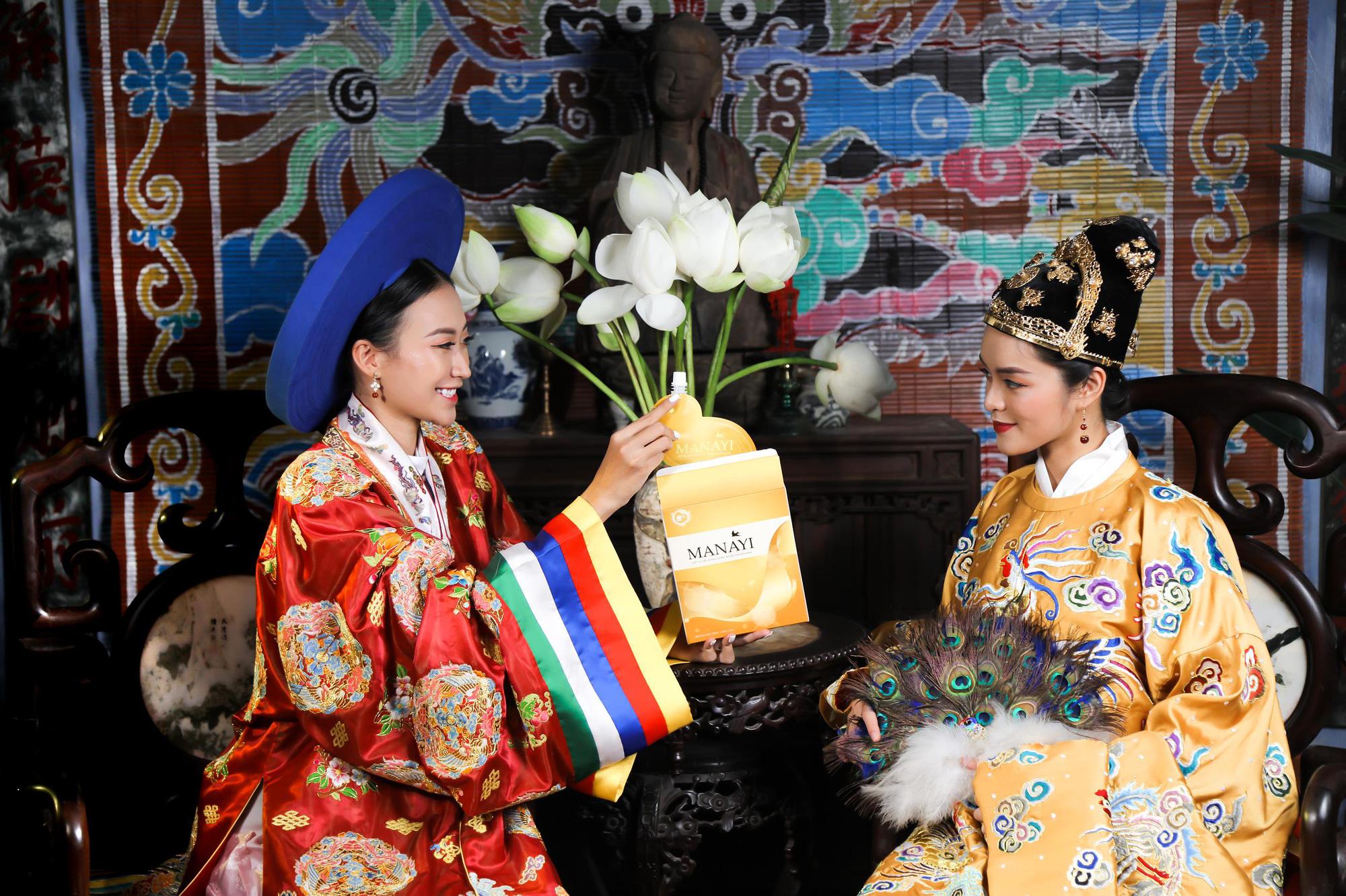 """Ấn tượng bộ ảnh """"Manayi - vàng son một thuở"""" tôn vinh hương sắc đất Việt ngàn năm - Ảnh 1."""