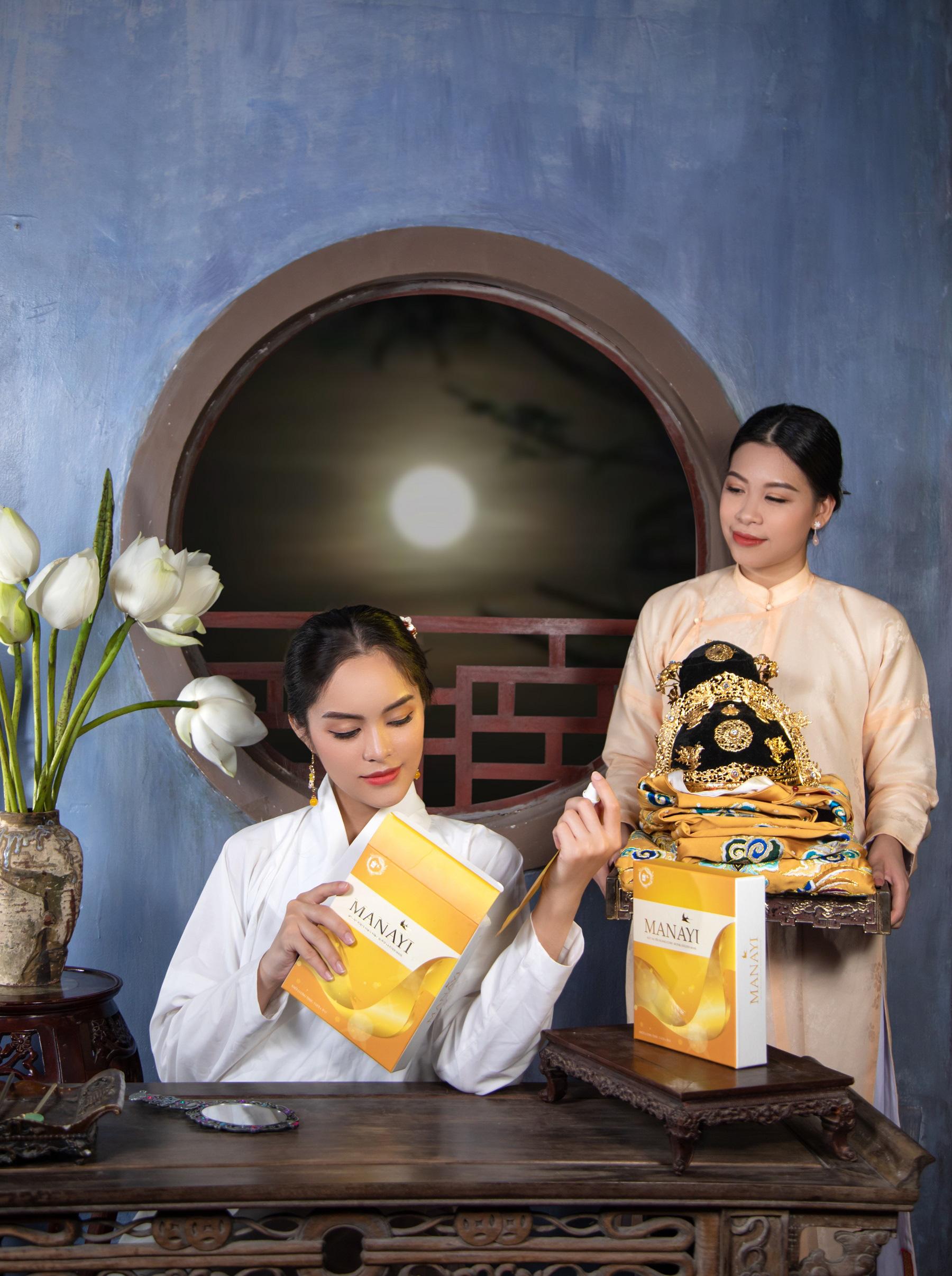 """Ấn tượng bộ ảnh """"Manayi - vàng son một thuở"""" tôn vinh hương sắc đất Việt ngàn năm - Ảnh 3."""