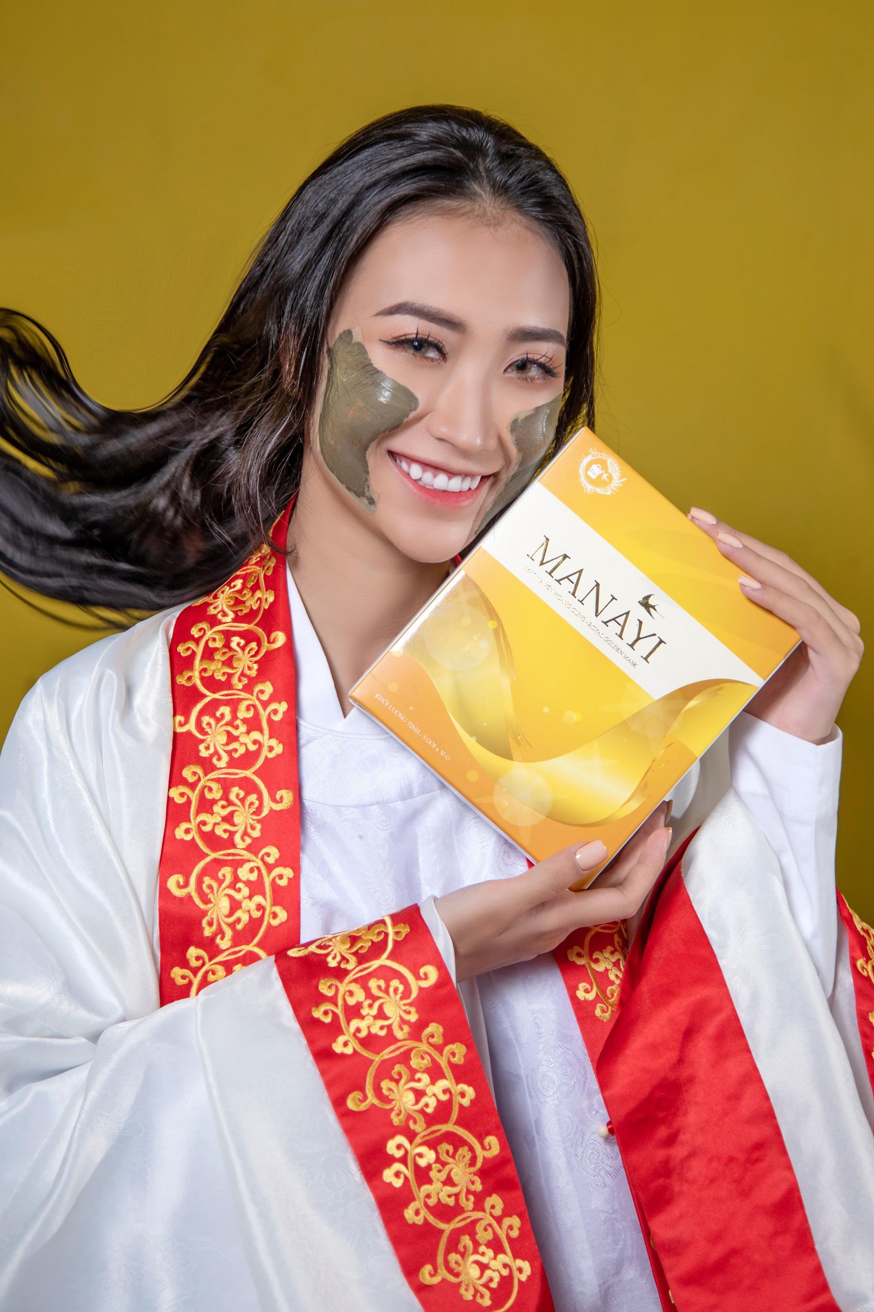"""Ấn tượng bộ ảnh """"Manayi - vàng son một thuở"""" tôn vinh hương sắc đất Việt ngàn năm - Ảnh 5."""
