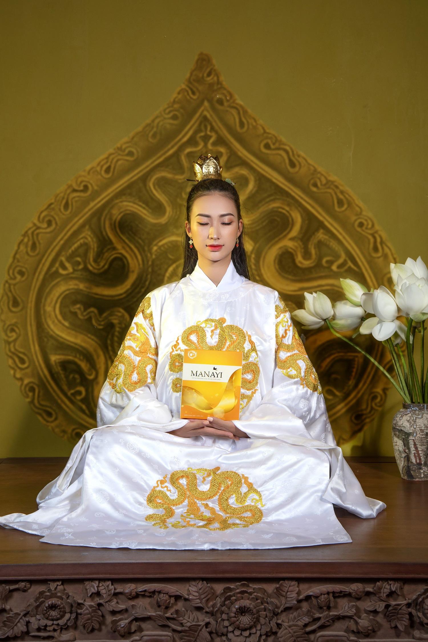 """Ấn tượng bộ ảnh """"Manayi - vàng son một thuở"""" tôn vinh hương sắc đất Việt ngàn năm - Ảnh 7."""