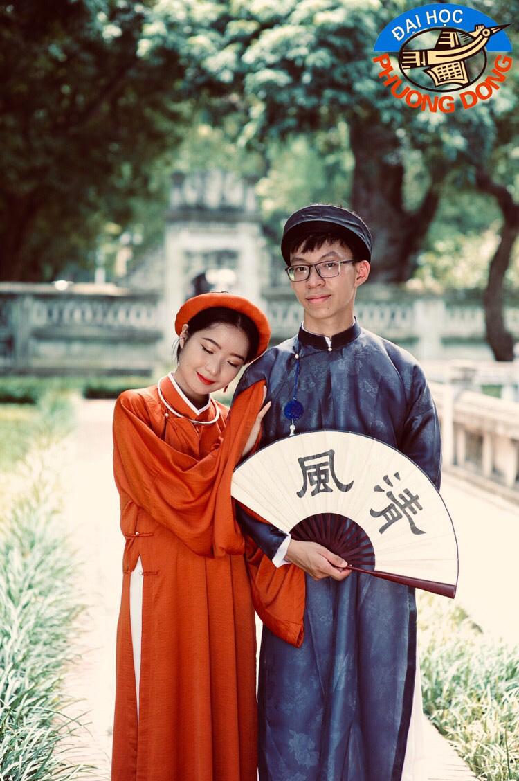 """Sinh viên Hà Nội cùng nhau """"check-in để quảng bá nét đẹp Thủ đô - Ảnh 10."""