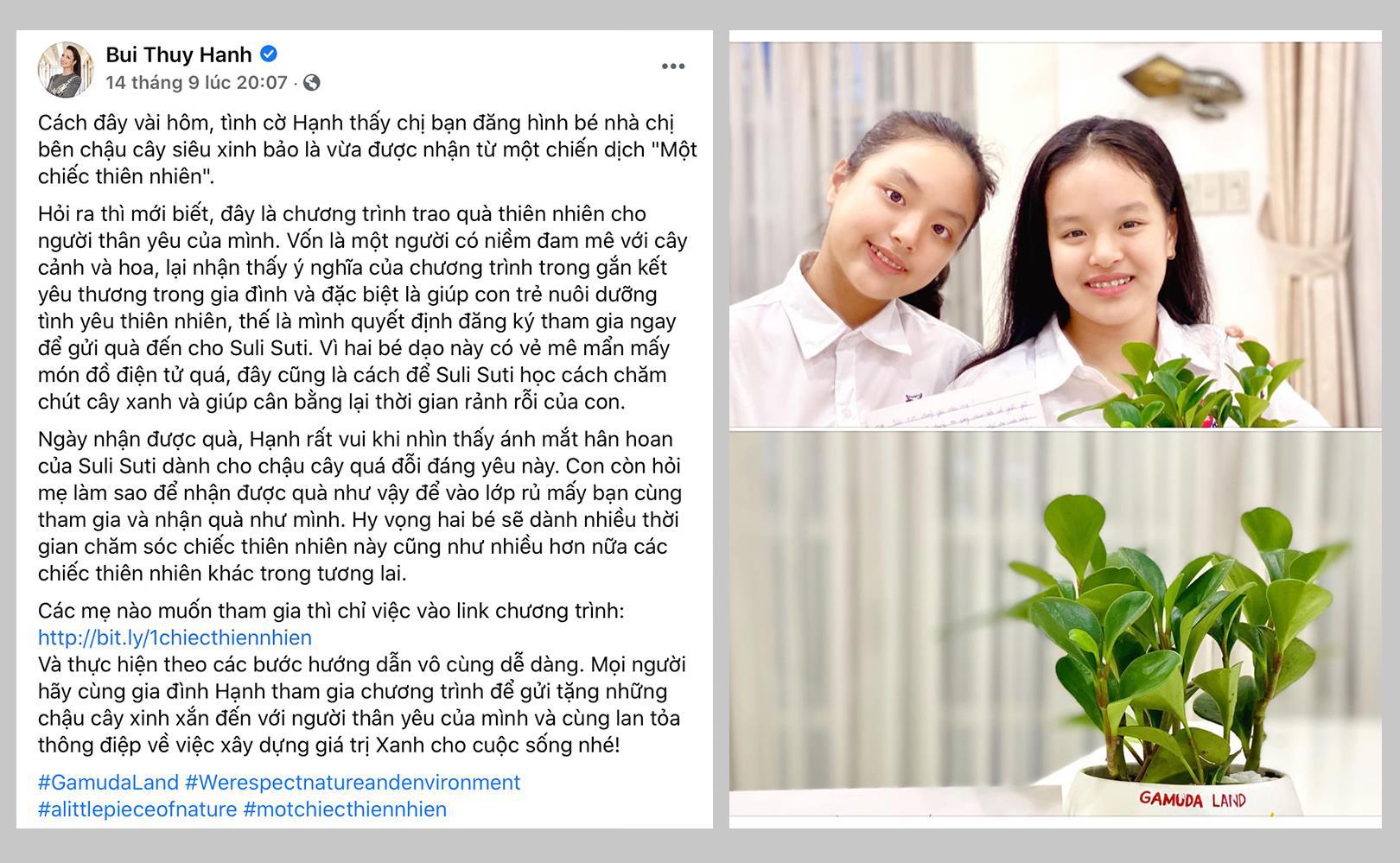 """Sao Việt hào hứng tham gia chiến dịch truyền cảm hứng siêu cute """"Một chiếc thiên nhiên"""" - Ảnh 1."""
