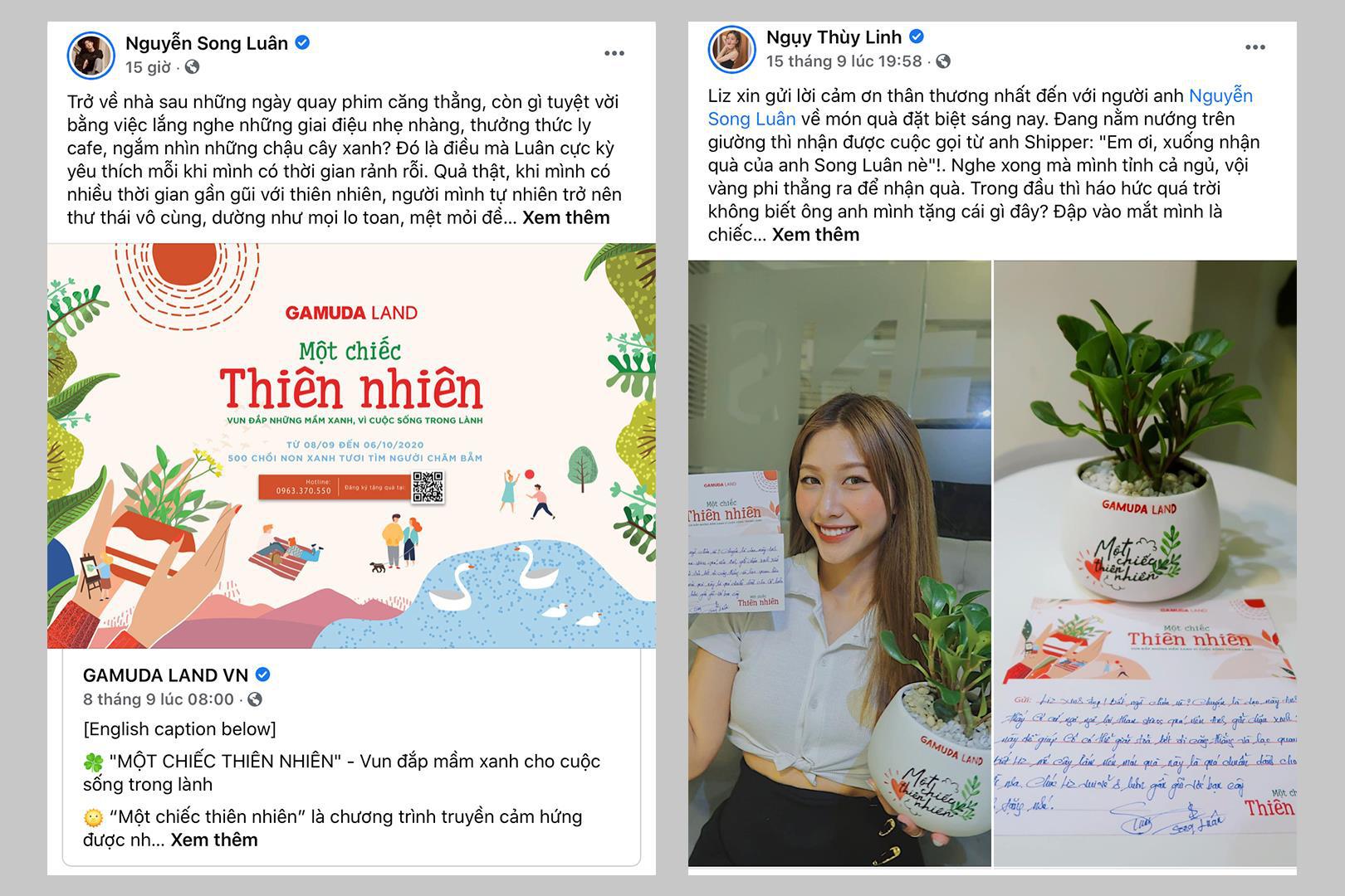 """Sao Việt hào hứng tham gia chiến dịch truyền cảm hứng siêu cute """"Một chiếc thiên nhiên"""" - Ảnh 4."""