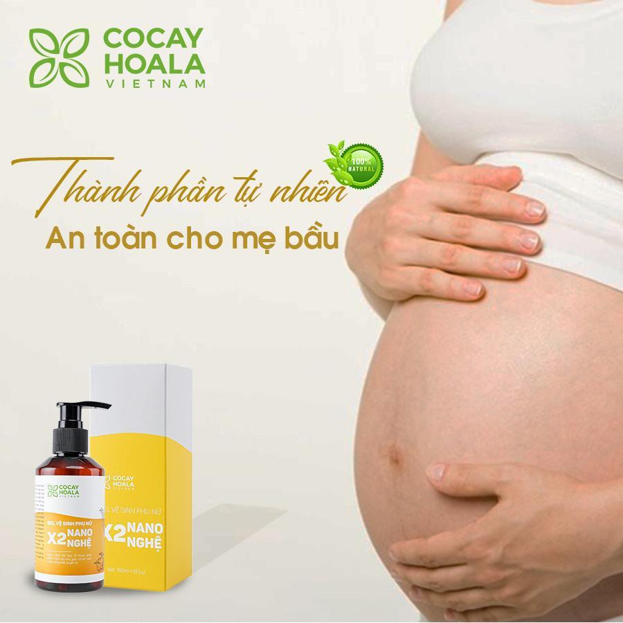 Tại sao mẹ bầu nên sử dụng dung dịch vệ sinh phụ nữ Gel X2 Nano Nghệ? - Ảnh 3.