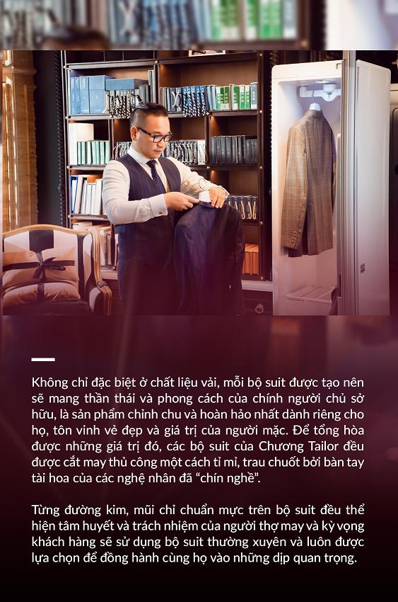 """Ông chủ của Chương Tailor: """"Bí kíp thành công nhờ sự chỉn chu trong từng đường kim mũi chỉ"""" - Ảnh 4."""