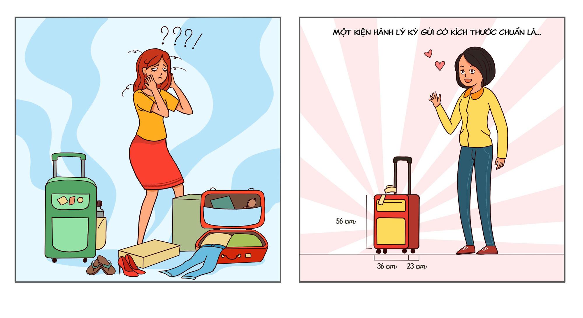 Chưa bước lên máy bay đã biết chuyến này chơi vui hay chơi quạu, cứ nhìn hành lý xách tay là biết - Ảnh 2.