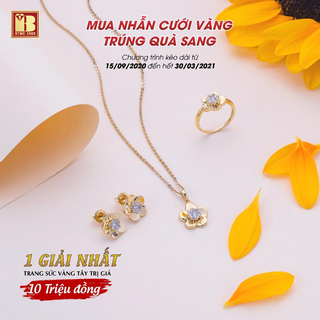 Mua nhẫn cưới vàng trúng quà sang tại Bảo Tín Minh Châu - Ảnh 3.