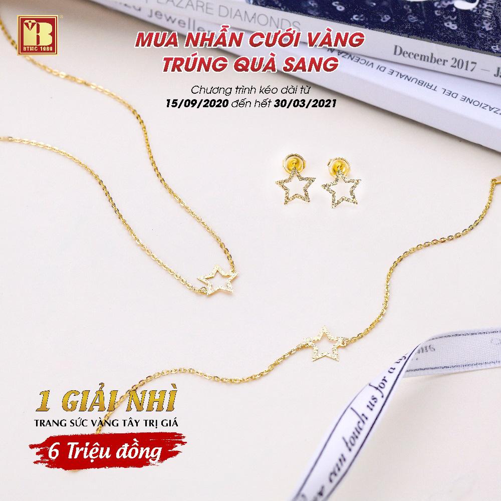 Mua nhẫn cưới vàng trúng quà sang tại Bảo Tín Minh Châu - Ảnh 4.