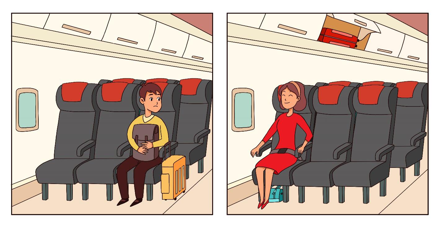 Chưa bước lên máy bay đã biết chuyến này chơi vui hay chơi quạu, cứ nhìn hành lý xách tay là biết - Ảnh 4.