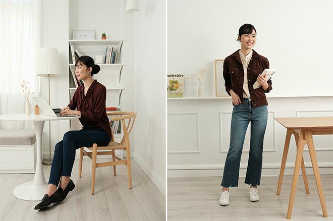"""""""Tốt gỗ, tốt cả nước sơn"""", cứ chọn UNIQLO jeans thì lên đồ giản đơn vẫn style """"ngút ngàn"""" - Ảnh 3."""