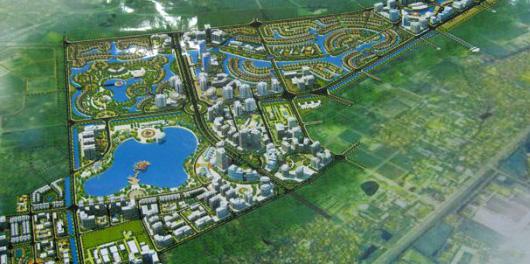 Triển khai dự án căn hộ hạng sang đầu tiên trong đô thị lớn bậc nhất Hà Nội - Ảnh 1.