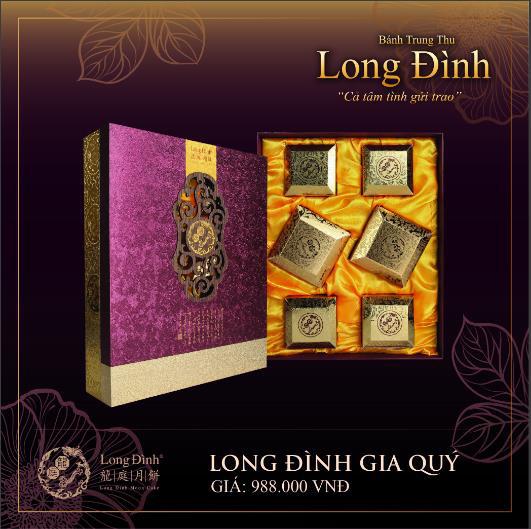 Phong vị Hồng Kông qua bánh Trung thu thượng hạng Long Đình - Ảnh 3.