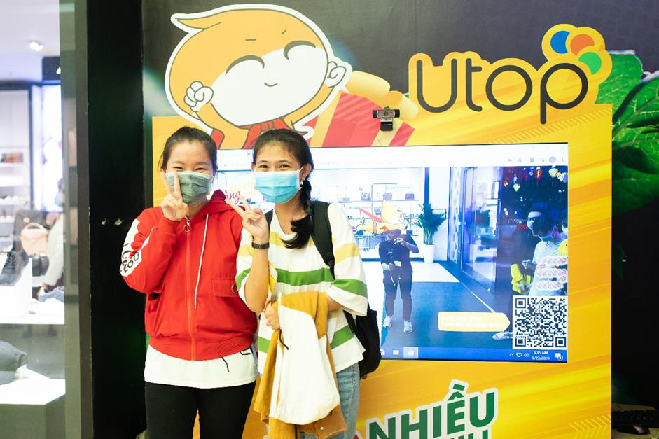 Giới trẻ Sài Gòn đổ xô đến Vạn Hạnh Mall, săn quà cùng Utop - Ảnh 4.