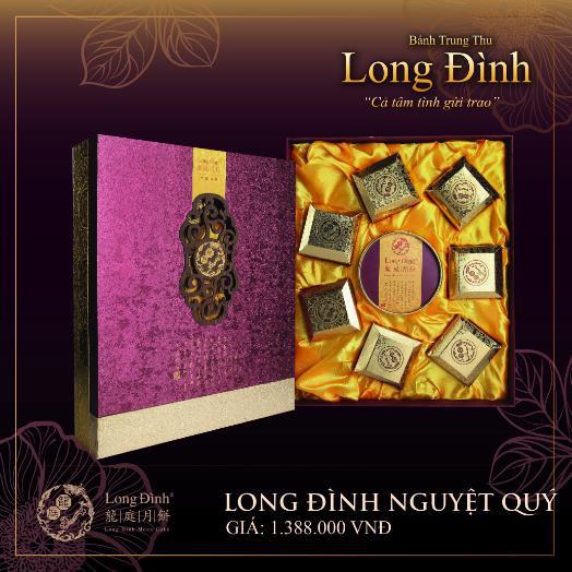 Phong vị Hồng Kông qua bánh Trung thu thượng hạng Long Đình - Ảnh 4.