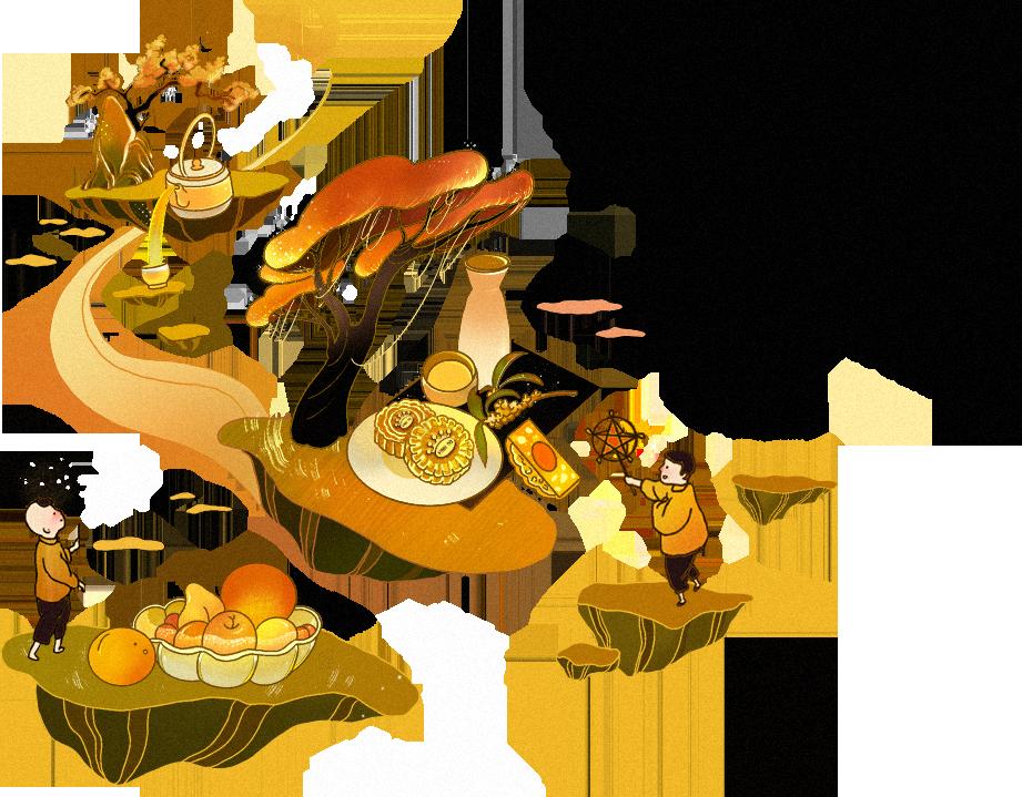 Cả tuổi thơ ngập ánh trăng gói trọn trong chiếc bánh Trung thu thơm lừng - Ảnh 2.
