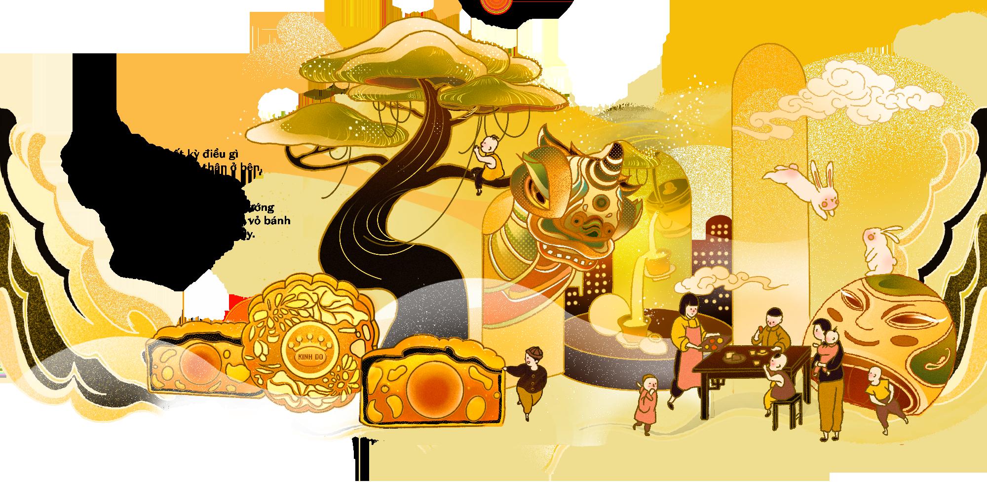 Cả tuổi thơ ngập ánh trăng gói trọn trong chiếc bánh Trung thu thơm lừng - Ảnh 3.