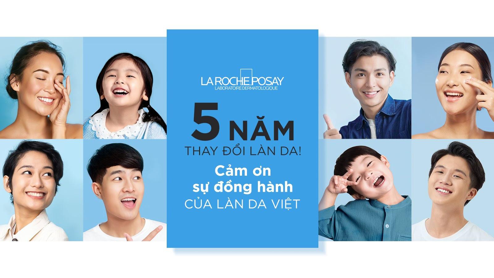 La Roche Posay và Shopee - Cảm ơn bạn cùng hành trình 5 năm thay đổi làn da tại Việt Nam - Ảnh 1.