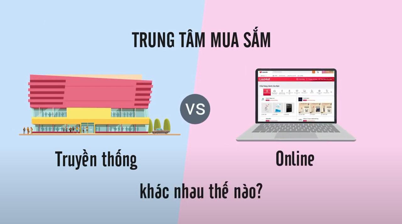 Thuộc tên đủ loại hàng hiệu nhưng bạn có để ý sự khác biệt giữa trung tâm thương mại truyền thống và online? - Ảnh 1.