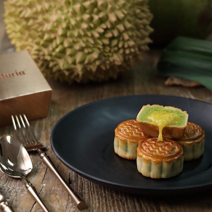 Sốt xình xịch với bánh Trung thu lava sầu riêng Musang King đến từ Malaysia - Ảnh 3.