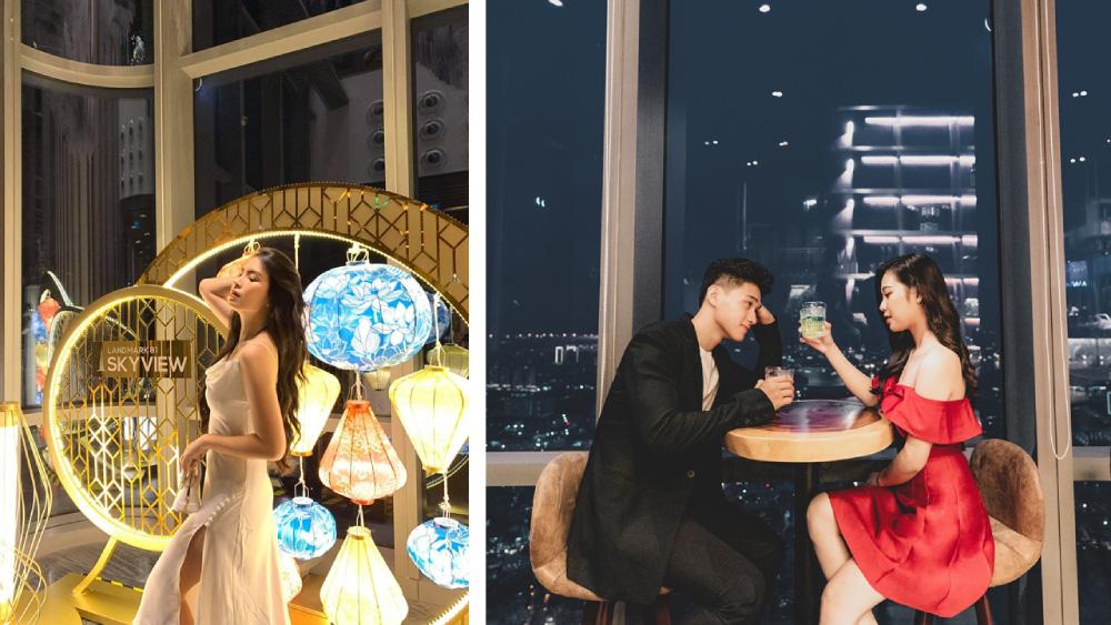 """Săn lùng địa điểm xuất hiện trong Noos Chill Night với góc chill """"triệu view"""" cao nhất thành phố - Ảnh 3."""